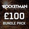 Rocketman Fireworks Bundle Pack for £100